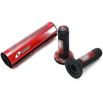 Red Dirt Bike Handlebar Grips 7//8 22mm For Honda CRF50 CR80 CR85 CRF110 CR125R CRF150 Grom Pit Bike Motorcycle Motocross Universal