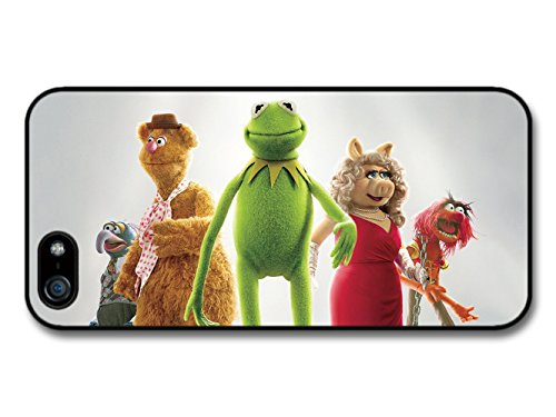 The Muppets Portrait with Kermit Miss Piggy Animal Fozzie Bear Gonzo case for iPhone 5 5S