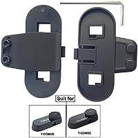 Freedconn Clips pour Casque de Moto Interphone interphone Bluetooth Bracket Clip Mount pour Casque Interphone