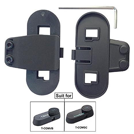 FreedConn Accessori per Interfono moto bluetooth, Kit accessori
