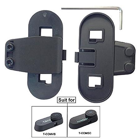 FreedConn Micr/ófono Auricular Cable Duro Auricular Accesorio para Casco de Moto Interfono Bluetooth intercomunicador para TCOM FDCVB y Colo