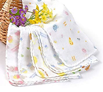 Best Quality - Towels - 10pc/lot Baby Towel 100% Cotton Gauze Muslin Baby