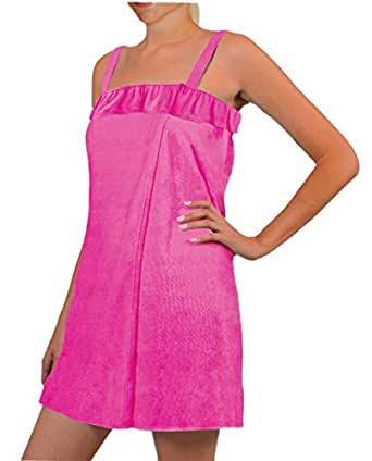 Blue star clothing women 39 s adjustable shower - Bath wraps bathroom remodeling reviews ...