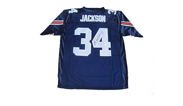 super popular b5f7a 426af Bo Jackson Autographed Signed Auburn Tigers Heisman Blue ...