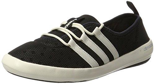 Adidas BB1920, Zapatillas Mujer Negro (Core Black/Chalk White/Matte Silver)