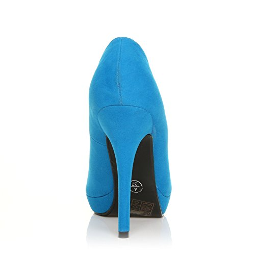 FOLLOW ME FMUK LADIES/HIGH HEEL PLATFORM SHOES IN SIZE- 3/36-8/41 WOMENS COURT SHOE HEELS NEW XiN052T