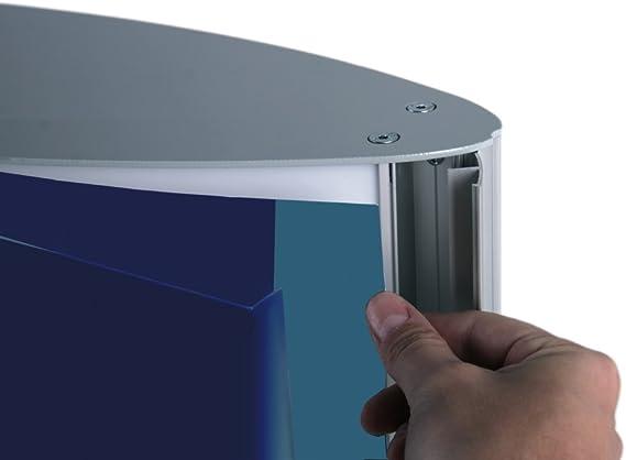 Totem Publicidad Retro iluminado columna luminosa bifacciale luz interna: Amazon.es: Bricolaje y herramientas