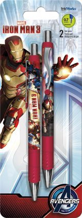 Iron Man 3 Gel Pen (Set of 2)