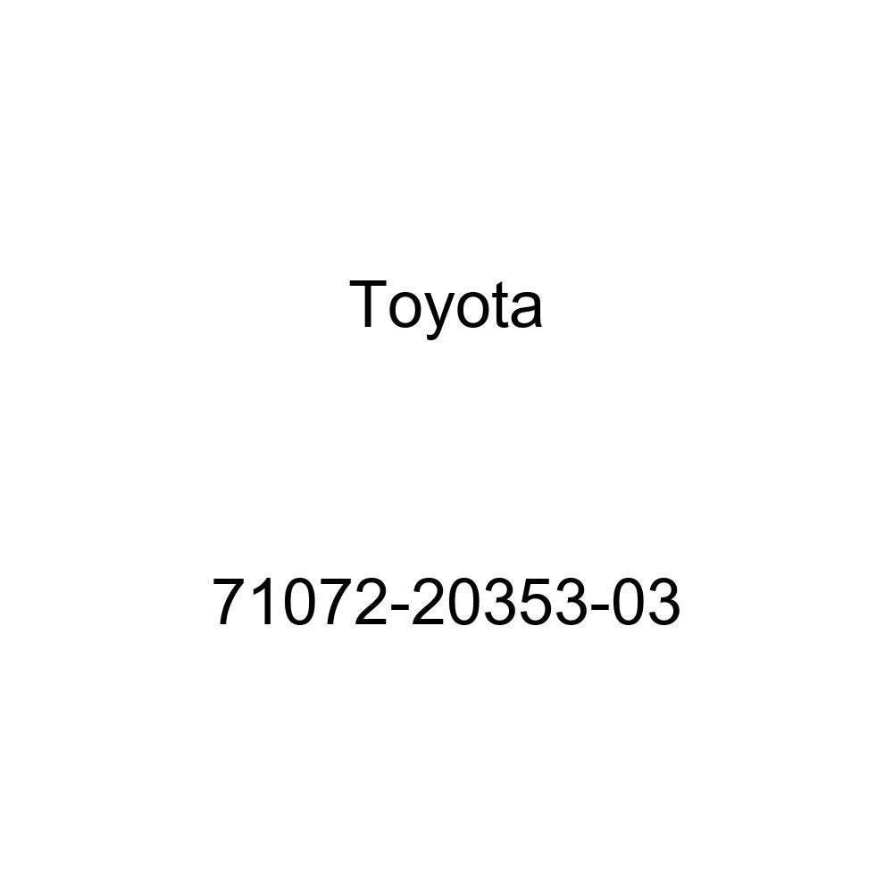 TOYOTA Genuine 71072-20353-03 Seat Cushion Cover