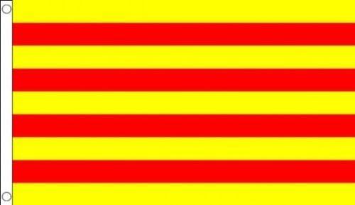Bandera de España Cataluña 3