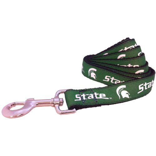All Star Dogs NCAA Michigan State Spartans Dog Leash, Small