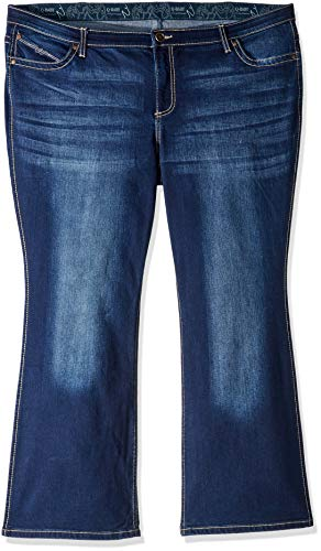 781644763b5 Wrangler Women s Plus-Size Ultimate Riding Q-Baby Boot Cut Jean Pants