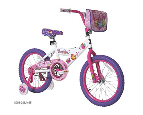 Shopkins 18 Bike, White