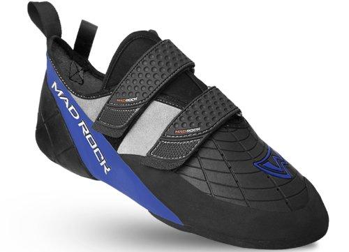 Mad Rock Men's Mugen Tech 2.0 Climbing Shoe,  Black/Blue ,9 D US, Outdoor Stuffs