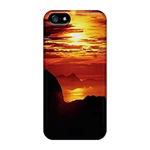 New Premium ColorCases Sunset Skin Case Cover Excellent Fitted For Iphone 5/5s