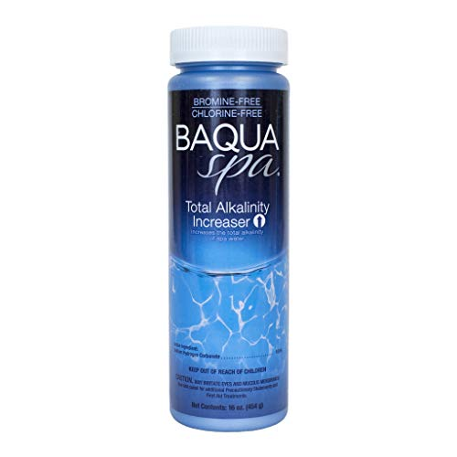 (Baqua Spa 88822 Total Alkalinity Increaser Spa pH Balancer, Clear)