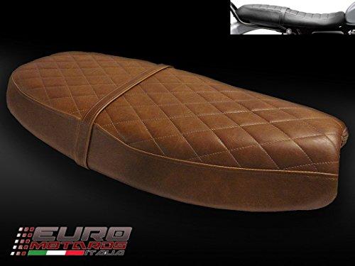 Triumph Scrambler 2006-16 & Bonneville /T100 2000-15 Luimoto Curve Top Vintage Seat Cover