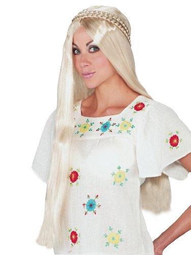 Hippie Girl Costumes Ideas (Hippie Girl Blonde Wig Retro 1960 Woodstock)