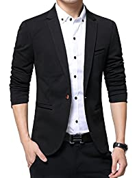Men's Slim Fit Casual Blazer Jacket