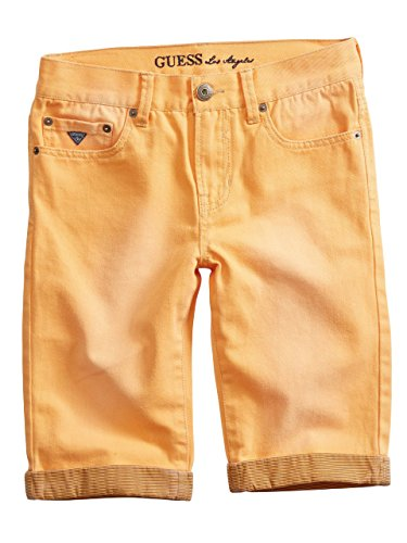 GUESS Kids Big Boy Striped-Cuff Shorts (8-20)