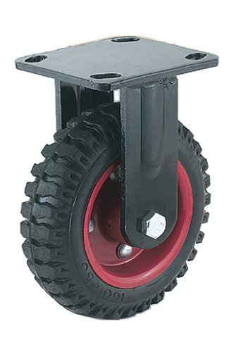 Steelex D2578 Fixed Heavy Duty Industrial Wheel, 6-1/4-Inch