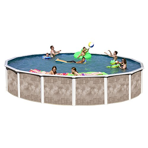 Heritage YO 2452SFP Yosemite Complete Above Ground Pool, 24-Feet x 52-Inch
