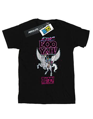 Epic Dc Go Garçon Titans Comics Boo shirt T Teen Noir Yah wqXw1Ur