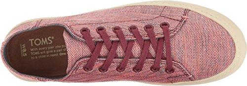 Toms Women's Lenox Novelty Textile Sneaker, Size: 11 B(M) US, Color: Pomegranate Woven Melange by TOMS (Image #1)