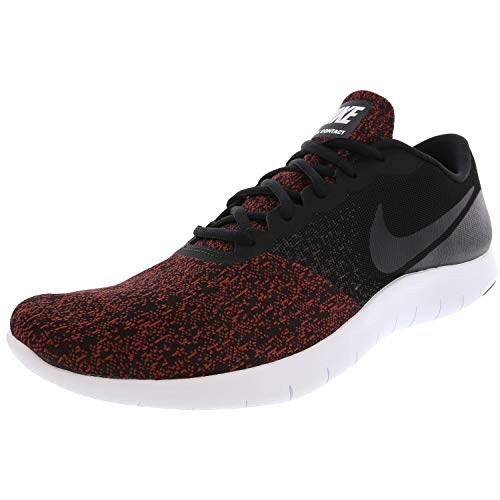 Nike Men's Flex Contact Black/White Running Shoe 11.5 Men US