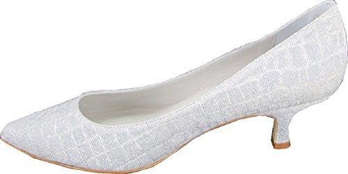 Zapatos de mujer de Patrizia Dini Plata - plateado