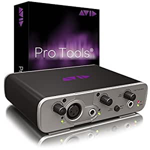 Avid Pro Tools 11 with FREE Fast Track Solo Recording Software and USB Interface