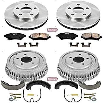 Power Stop Rear KOE15322DK Daily Driver Drum and Shoe Kits
