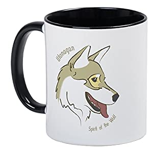 CafePress-Utonagan Spirit Of The Wolf Mug 28
