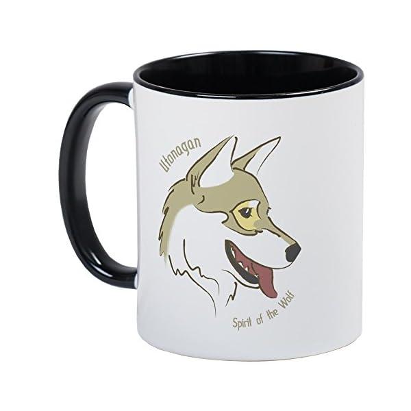 CafePress-Utonagan Spirit Of The Wolf Mug 1
