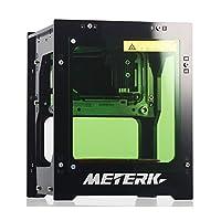 Meterk Laser Gravierer Drucker 1500mW Beweglicher Haushalt Kunst Fertigkeit DIY Mini Gravur Druck USB Drahtloser Bluetooth4.0 für IOS / Android / PC Rapid Speed