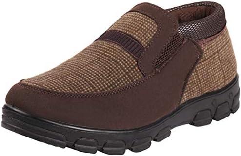コンフォートシューズ メンズ 靴 ビジネスシューズ 紳士靴 革靴 ソフト コンフォート ウォーキングシューズ 滑り止め 冬用 歩きやすい スリッポン シューズ スノーブーツ 裏起毛 暖かく 防寒 スリッポン