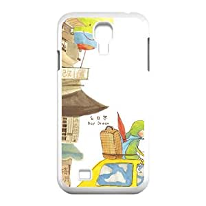 Okaycosama Funny Samsung Galaxy S4 Cases Good Bye My Dream Design for Men, Case for Samsung Galaxy S4, [White]