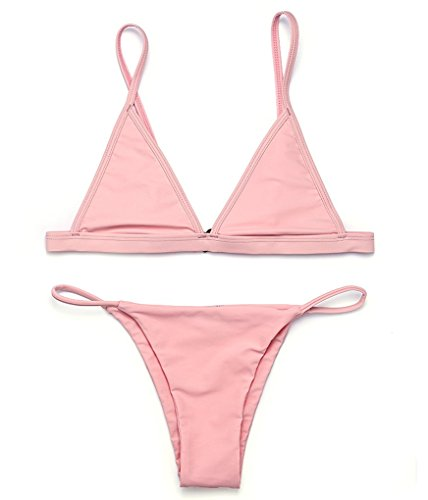 RELTANGL Womens Triangle Brazilian Swimwear