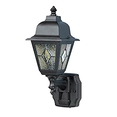 Heath/Zenith HZ-4395-BK Cottage Motion Security Light, Black