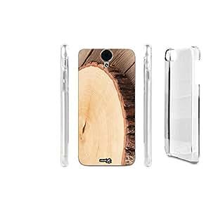 FUNDA CARCASA CEPPO WOOD PARA HTC ONE E9 PLUS