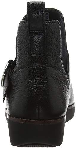 Femme black Bria Noir Buckle Fitflop Bottines 001 qf6vTWwZ