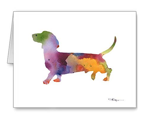 Dachshund - Set of 10 Note Cards With Envelopes