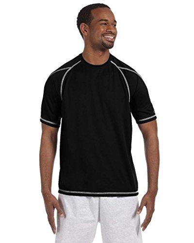 Campion Men`s Double Dry Short Sleeve Tee Black