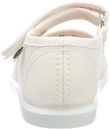 Victoria Zapatillas Mercedes Blanco Bebé Unisex Velcro Lona Eu AaO4A