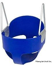 مقعد ارجوحة للاطفال الصغار بتصميم دلو - المقعد فقط - لون ازرق