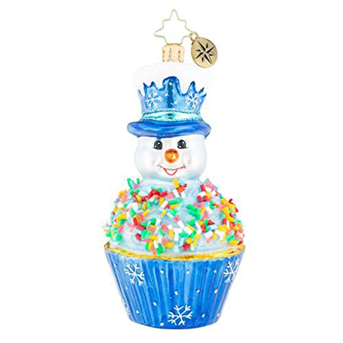 Christopher Radko Tasty Snowman Treat Christmas Ornament
