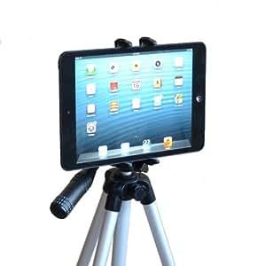 "Tripod or Monopod Mount for Apple iPad Mini, Amazon Kindle Fire, Nexus 7, Other 7-8"" Tablets (Tripod / Monopod is not included)"