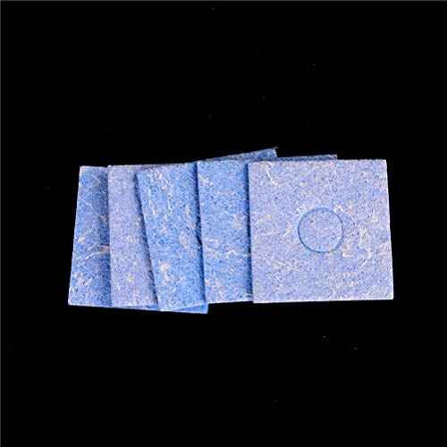 Tool Parts - 5pcs Blue Size 6cm Soldering Iron Solder Tip Welding Cleaning Sponge Pads - Parts Direct Cart Tray Storage Tool Organizer Tool Parts Mice Coat Sheepskin Computer Mousepad Keyboa