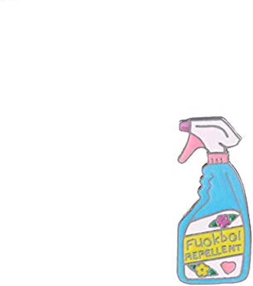 ExhilaraZ Brooches Lovely Laundry Detergent Hat Bag Jacket Collar Decor Badge Enamel Brooch Pin