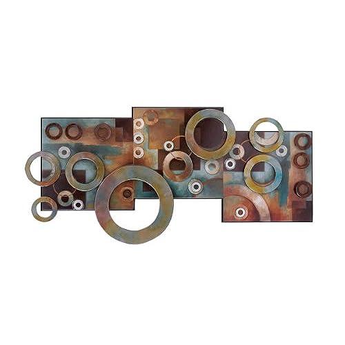 Deco 79 64310 Metal U0026 Wood Wall Decor